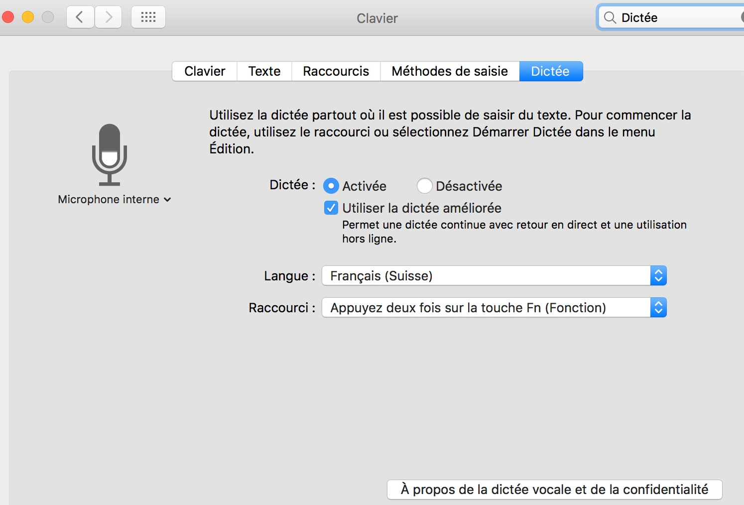 Comment dicter à son Mac