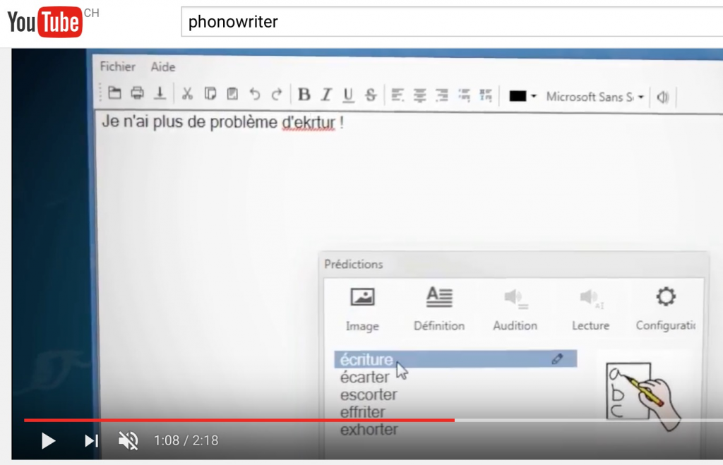 PhonoWriter