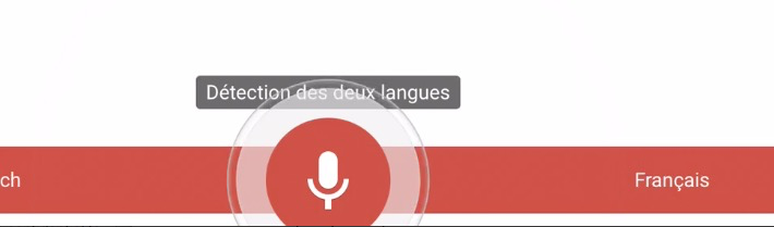 Google Translate en dictée