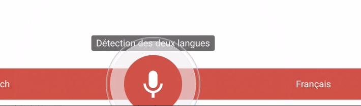 Google Translate en dictée