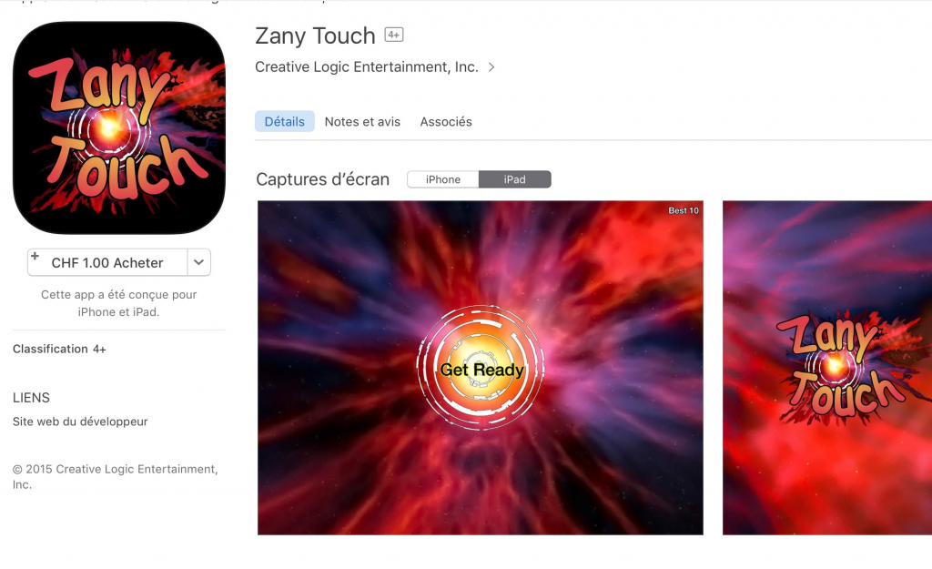 Zanny Touch