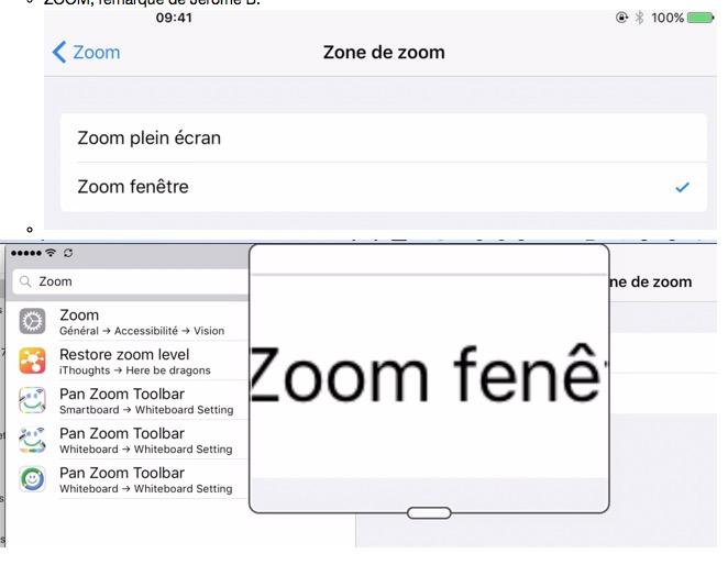Zoom fenêtre